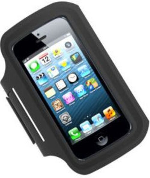 Tzumi 817243024133 Active Armband For Smartphones - Black
