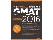 The Official Guide For Gmat Review 2016 With Online Question Bank And Exclusive Video Official Guide For Gmat Review