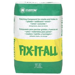 Custom Building Products #DPFXL25 25LB Fix Patch Compound