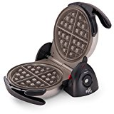 Presto 03510 FlipSide Belgian Waffle Maker with Ceramic Nonstick Finish, 7-Inch, Black