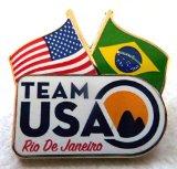 2016 Rio De Janeiro Brazil Olympic Pin