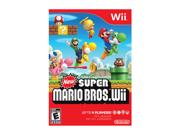 New Super Mario Brothers Wii Wii Game ESRB Rating: E - Everyone Genre: Action Brand: Nintendo Electrical Outlet Plug Type: Other
