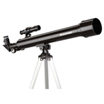 """Celestron PowerSeeker 50AZ Telescope, The Celestron 21039 is a PowerSeeker 50mm f/12 refractor telescope with starter scope designed and fully coated glass optical components and high transmission coatings for enhanced image brightness and clarity for viewing the moon, planets, meteor showers and brighter deep-sky objects"