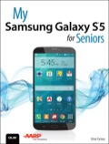 My Samsung Galaxy S5 for Seniors helps you quickly get started with the new smartphone and use its features to look up information and perform day-to-day activities from anywhere, any time