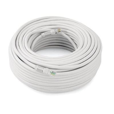 100� RJ-11E Cable - White