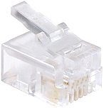 PRO Series modular telephone wire RJ11 plugs will work as a replacement plug to your existing wire or will serve as a new connection