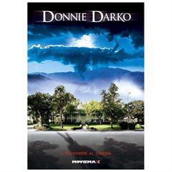 Donnie Darko Poster Movie Italian 27 x 40 In - 69cm x 102cm Jake Gyllenhaal Jena Malone Drew Barrymore Mary McDonnell James Duval Maggie Gyllenhaal