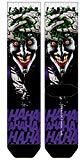 Joker Killing Joke Batman Premium Sublimated Crew Socks DC Comics, Sock Size: 10-13, Fits Shoe Size: 8-12