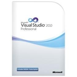 Microsoft Visual Studio 2010 Professional Edition with MSDN Embedded Subscription Renewal - Complete Product - 1 User - Software Development - PC - English