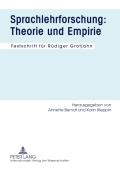 Mit der vorliegenden Festschrift für Rüdiger Grotjahn wird ein Wissenschaftler geehrt, der die deutsche Sprachlehrforschung der letzten 30 Jahre maßgeblich geprägt hat