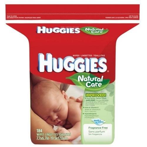 Huggies Baby Wipes, 184 ct