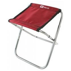 N-Rit Red / Black Nano Easy Folding Compact Chair w/ Storage Bag