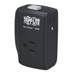 Tripp Lite ProtectIT TRAVELER100BT 2 Outlets Surge Suppressor - Receptacles: 2 x NEMA 5-15R - 1050J