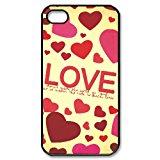 ordinal design colored print love iPhone 4 4s hard case