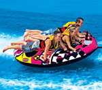 """""""Sportsstuff Wet N Wild Flyer Brand New Includes 90 Day Warranty, The Sportsstuff 531671 Wet N Wild Flyer is mainly designed to provide the full and the highest water sport experience to you"""