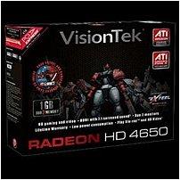 Visiontek 900275 Radeon Hd 4650 Graphics Card - 1 Gb - Ddr2 Sdram 128-bit - Pci Express 2.0 X16 - Dvi, S-video