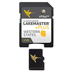 """LakeMaster PLUS Chart - Western States Brand New Includes One Year Warranty, The Humminbird LakeMaster Western States PLUS is a digital GPS map card series which features all the coverage area and lake lists that are compatible with most Humminbird GPS models"