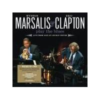 Wynton Marsalis & Eric Clapton - Wynton Marsalis & Eric Clapton Play The Blues - Live From Jazz At  Lincoln Center (Music CD)