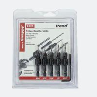 Trend Snappy 5 Pc Countersink Set (Snappy / Snappy Sets)