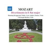 Mozart: Divertimento in E flat major (Music CD)
