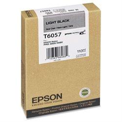 Epson Light Black Ink Cartridge - Light Black - Inkjet - 1 Each