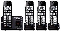 Panasonic KX TG454SK Cordless Phone Panasonic presents a way to combine your cell phones capabilities with the convenience of an everyday landline