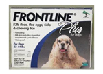 Frontline 23-44-3pk-ps Application Plus For Dogs And Puppies 23-44lbs