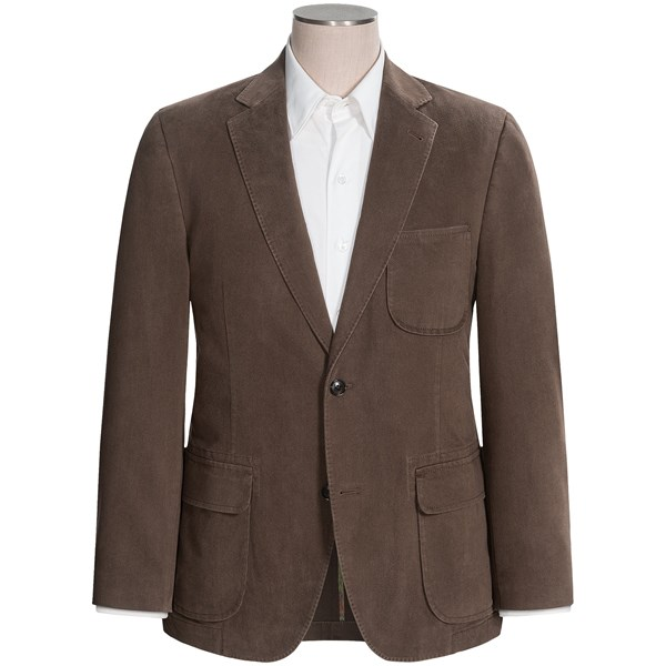 Kroon Harrison Solid Sport Coat - Stretch Cotton (for Men)