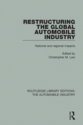 Originally published in 1991, this book examines the spatial implications of the changes to the automobile industry at world, national and local levels
