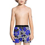 Ouxioaz Boys' Swim Trunk Abstract Painting Watercolor Beach Board Shorts