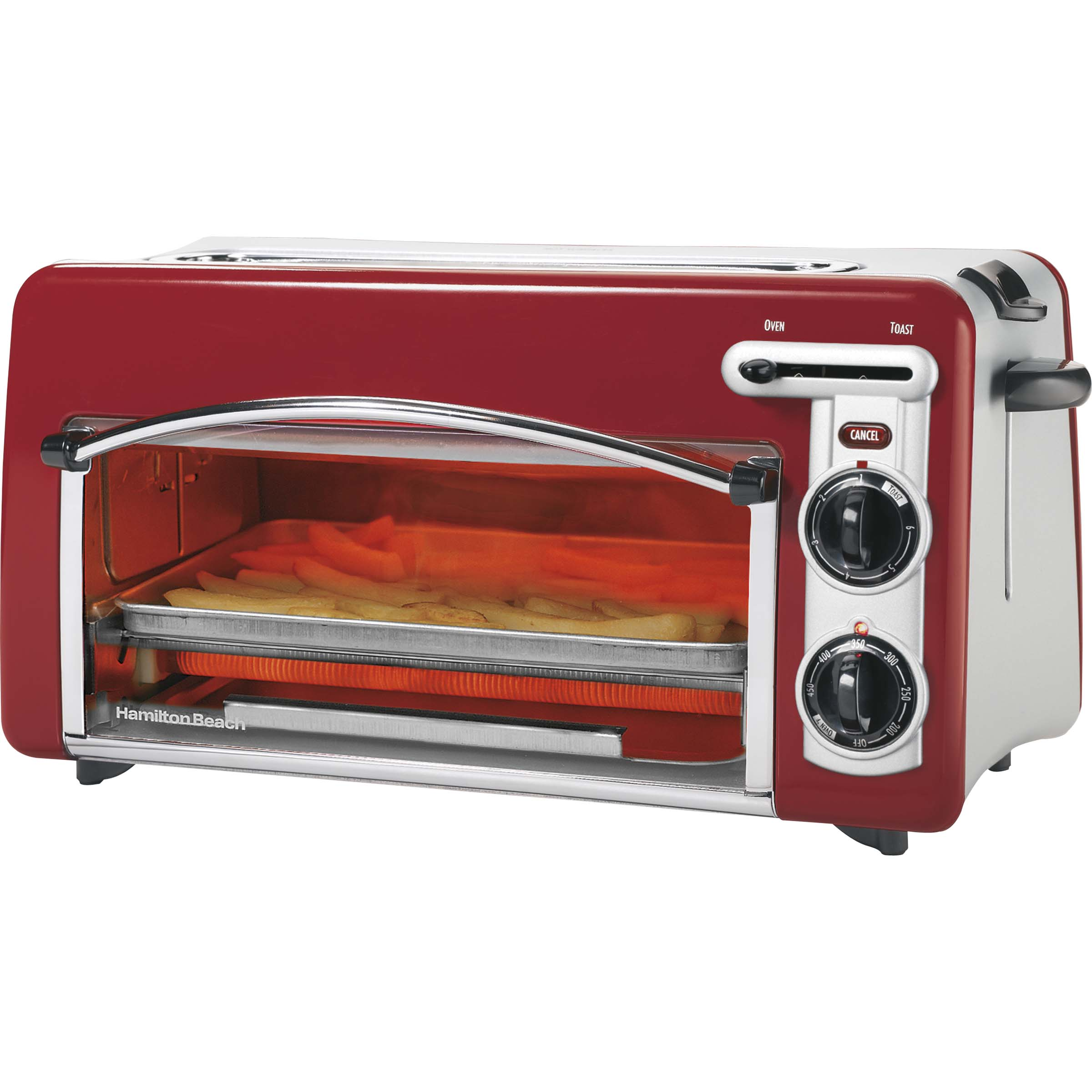Hamilton Beach Toastation Toaster & Oven - Red (22703H) - Toast - Red
