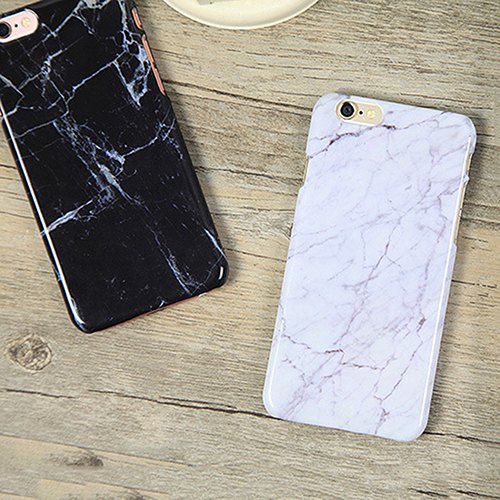Plastic Granite Marble Texture Pattern Phone Back Hard Case for iPhone 6/6S