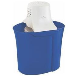 SA RV 4 qt oval ice cream bucket blue
