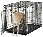"""""""MidWest Life Stages ACE-436 Brand New Includes Two Year Warranty, The MidWest ACE-436 Single Door MAXLock Dog Crate is designed completely around the safety, security and comfort for dogs"""