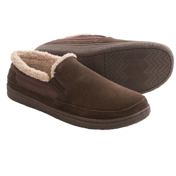 Hideaways By L.b. Evans Thornton Slippers - Suede (for Men)