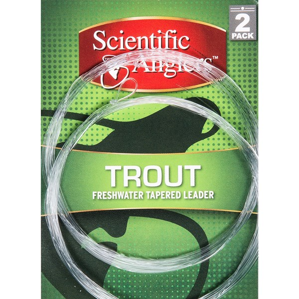 Scientific Anglers Premium Freshwater Trout Leaders - Loop, 2-pack, 12?