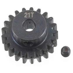 INTEGY INC. C23175 Billet Machined Pinion Gear 21T 1M/5mm Shaft