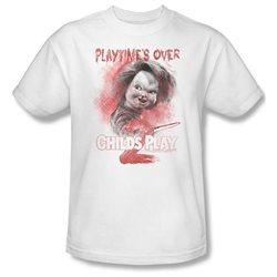 Mens CHILDS PLAY 2 Short Sleeve PLAYTIMES OVER XXXLarge T-Shirt Tee