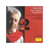 Johannes Brahms - Symphonies 1 - 4 (BPO, Karajan) (Music CD)