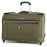 """""""Travelpro Platinum Magna 2, Olive Brand New Includes Limited Lifetime Warranty, The Travelpro Platinum Magna 2 Carry-on Rolling Garment Bag is perfect for today's business and frequent travelers"""