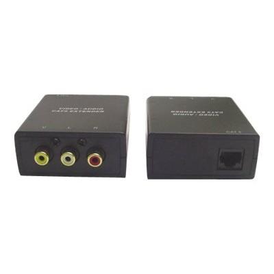 Calrad Electronics 95-1140 Small-compact Audio-video Balun - Video/audio Extender