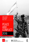 An authoritative source of information on violent conflicts and peacebuilding processes around the world, Peace and Conflict is an annual publication of the University of Maryland's Center for International Development and Conflict Management and the Graduate Institute of International and Development Studies (Geneva).The contents of the 2016 edition are divided into three sections:» Global Patterns and Trends provides an overview of recent advances in scholarly research on various aspects of conflict and peace, as well as chapters on armed conflict, violence against civilians, non-state armed actors, democracy and ethnic exclusion, terrorism, defense spending and arms production and procurement, peace agreements, state repression, foreign aid, and the results of the Peace & Conflict Instability Ledger, which ranks the status and progress of more than 160 countries based on their forecasted risk of future instability.» Special Feature spotlights work on measuring micro-level welfare effects of exposure to conflict