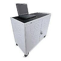 The LAP30ERBFR GM Assembled laptop Storage Cart from Bretford Manufacturing comes completely welded, ready to use right out of the box