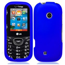 Blue Hard Case Cover for LG Cosmos 3 VN251S   Accessory Kit