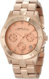 Marc Jacobs Blade Chronograph Rose Gold-Tone Stainless Steel Ladies Watch MBM3102