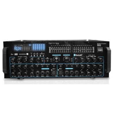 Technical Pro Mm3000 Pro Mic Mixing Amp With Usb / Sd Inputs And Bluetooth