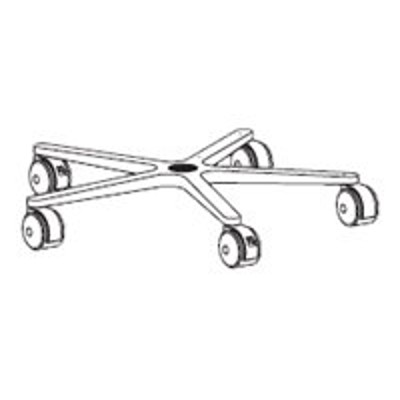 Ergotron 33-061 Mobile Workstand - Base & Casters