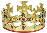 Adjustable Gold King Crown