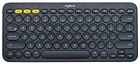 Logitech K380 Multi-device Bluetooth Keyboard - Wireless Connectivity - Bluetooth - 79 Key - Compatible With Computer, Tablet, Smartphone, Smart Tv - Qwerty Keys Layout - Black 920-007558