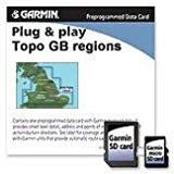 Garmin TOPO! Northern England/Midlands G.B. Map microSD Card